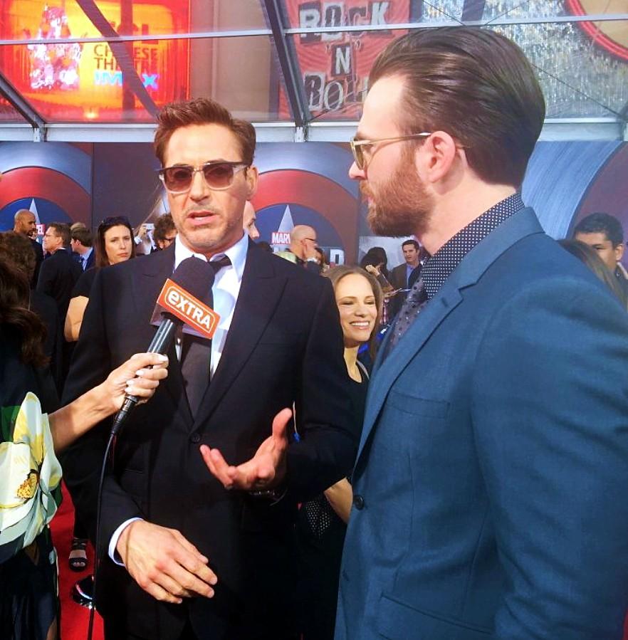 Captain America Civil War, Robert Downey Jr