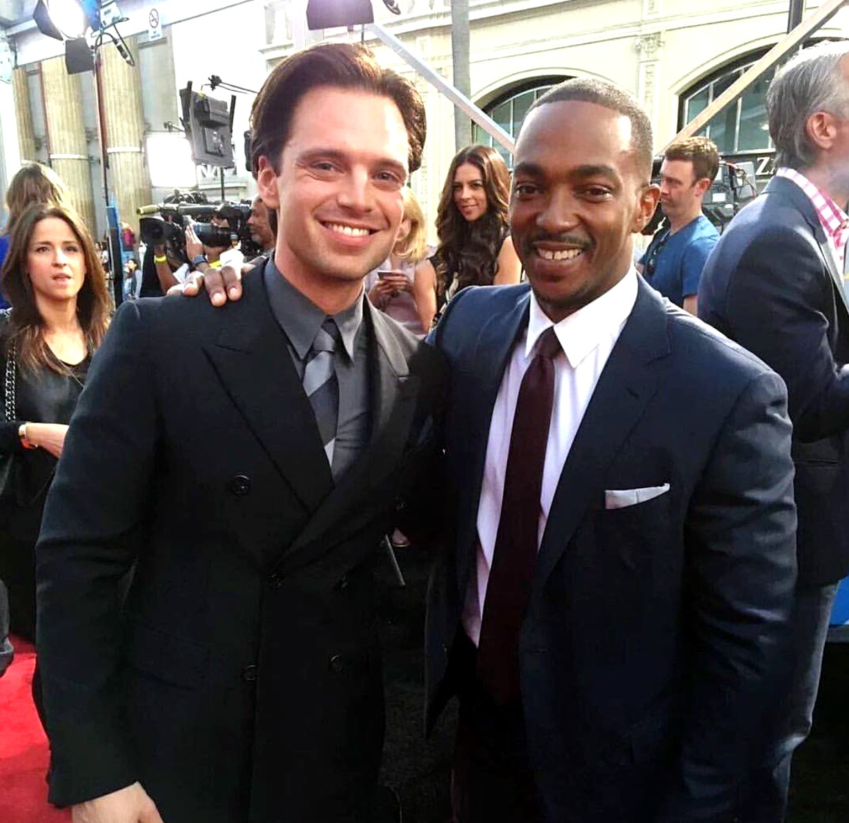 Captain America Civil War, Sebastian Stan, Anthony Mackie