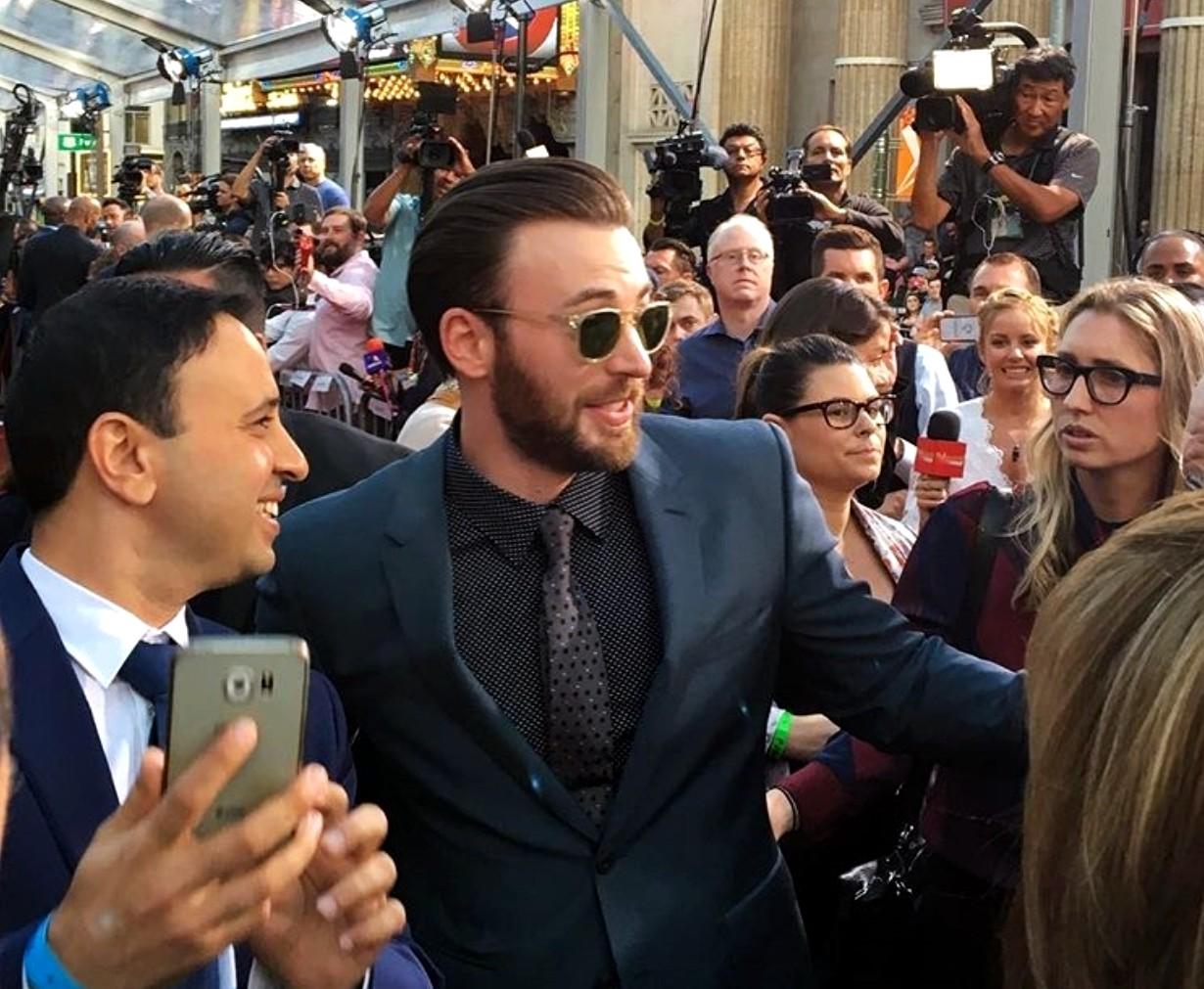 Captain America Civil War, movie premiere, Chris Evans