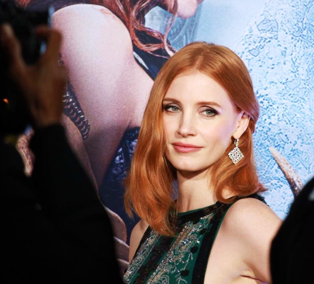The Huntsman Winter's War, Jessica Chastain, movie premiere