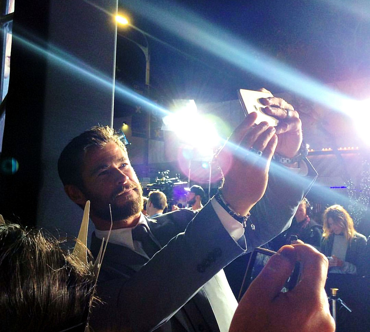 The Huntsman Winter's War, movie premiere, Chris Hemsworth, LA