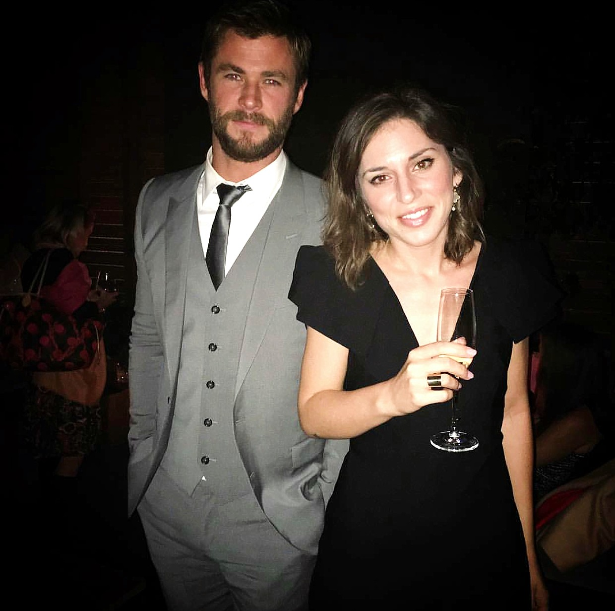 The Huntsman Winter's War, movie premiere, Chris Hemsworth, after party