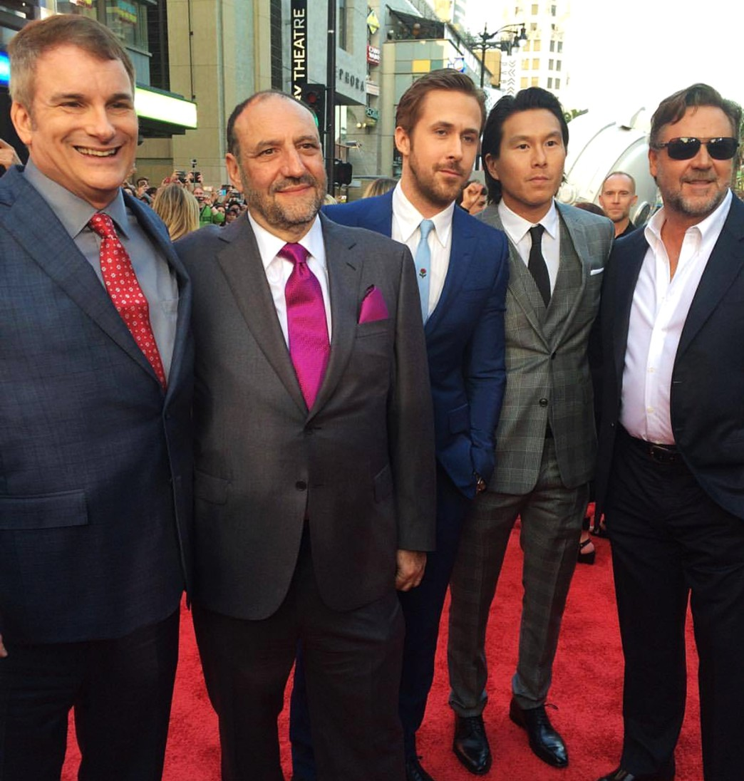 The Nice Guys, Shane Black, Joel Silver, Ryan Gosling, Russell Crowe
