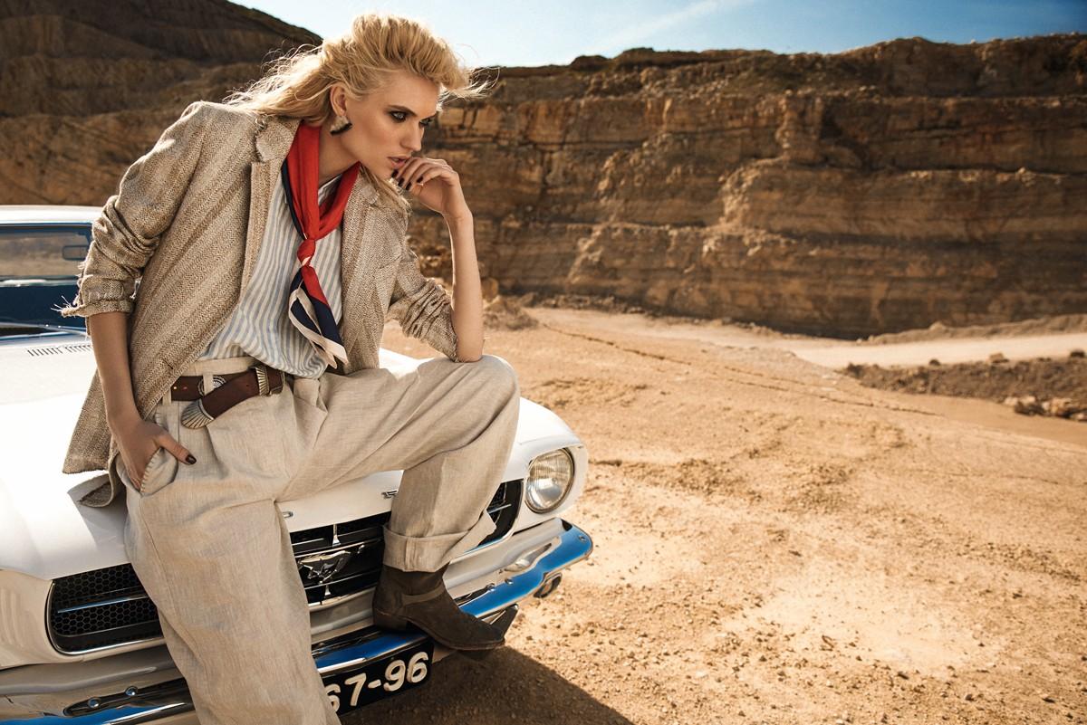 yana sotnikova, model, desert, 5