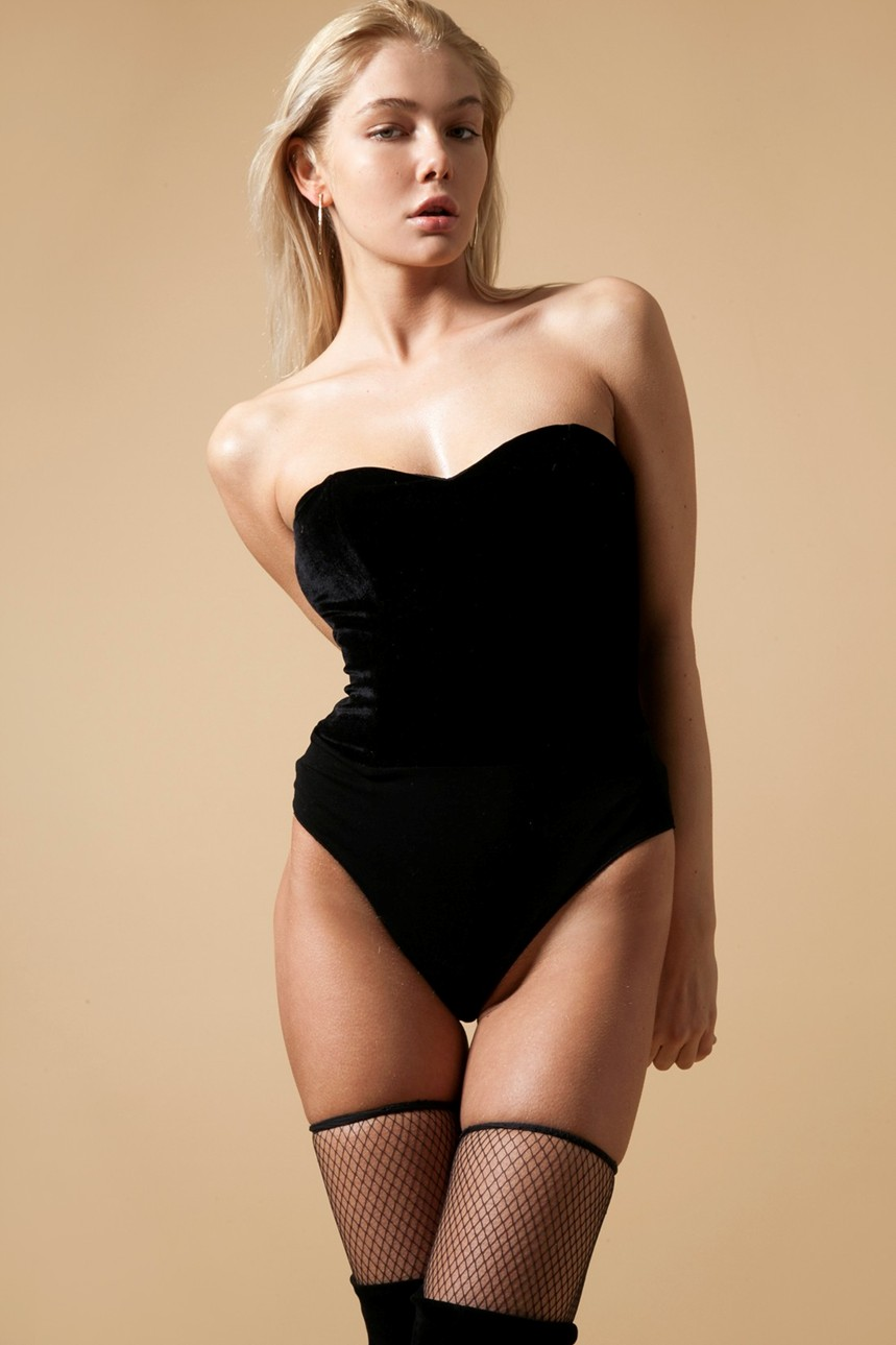 Anastasia Belotskaya lingerie body