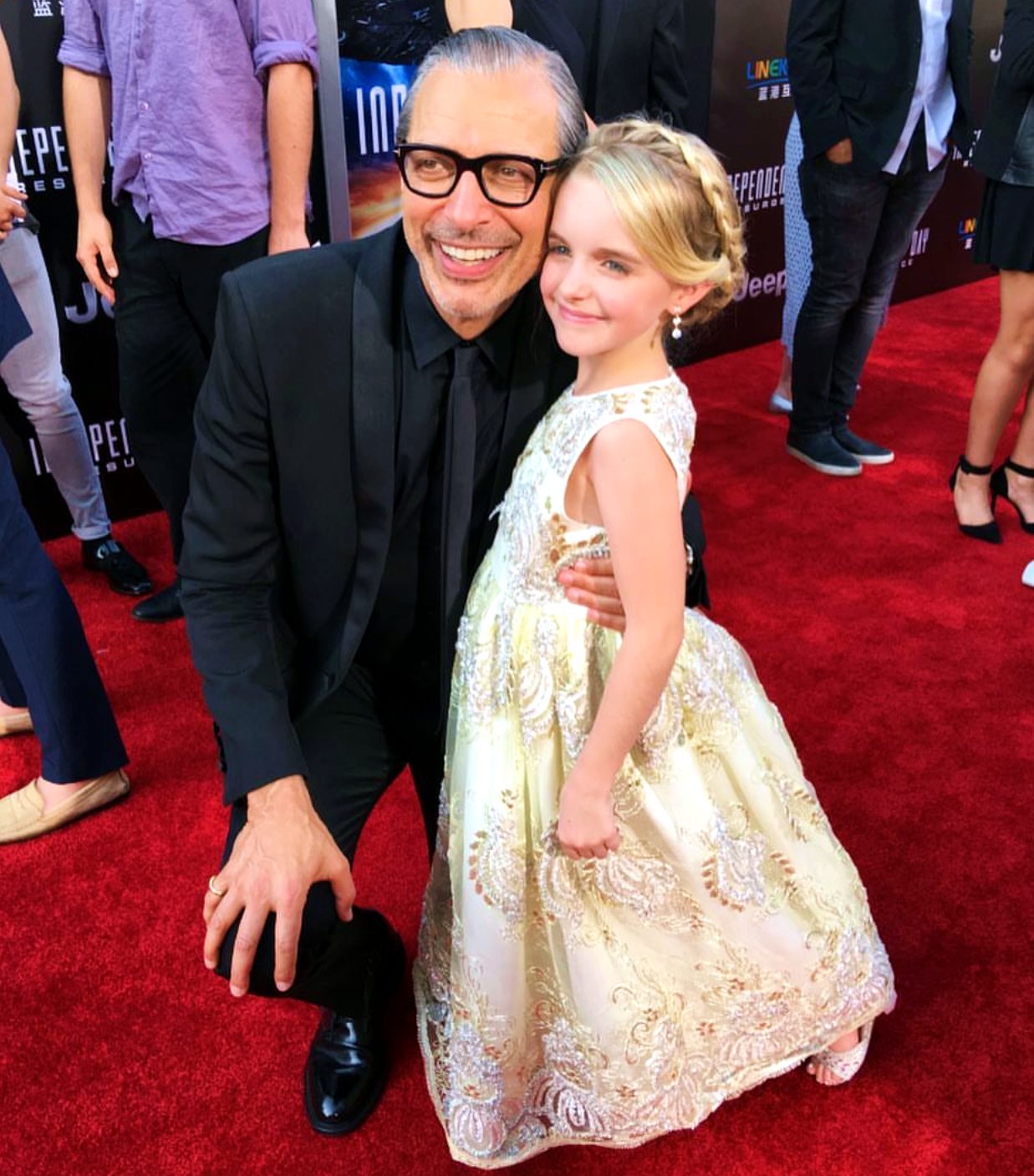 Independence Day Resurgence, movie premiere, Jeff Goldblum