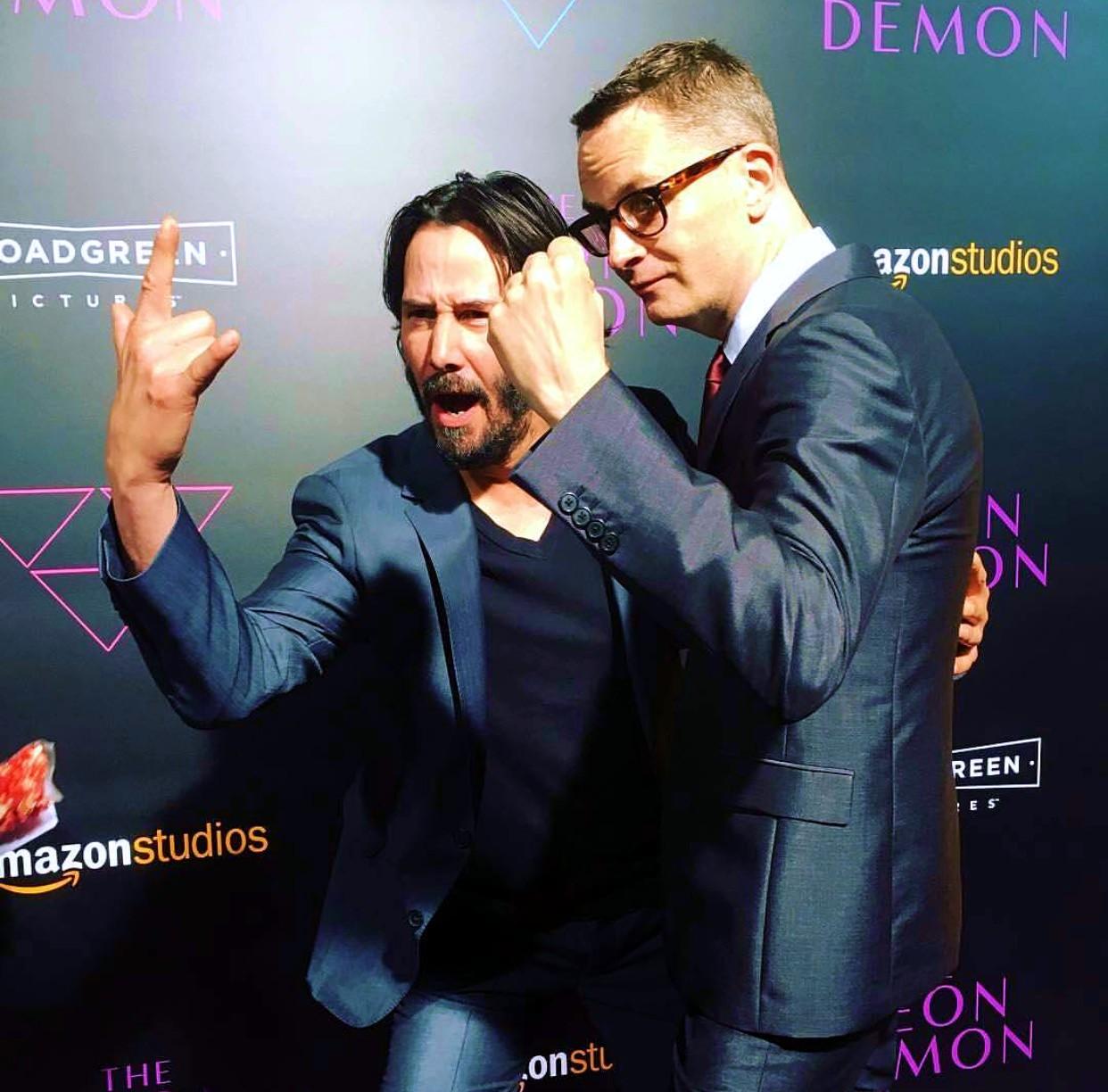 The Neon Demon, Keanu Reeves, Nicolas Winding Refn   RED ... Ryan Gosling Wife