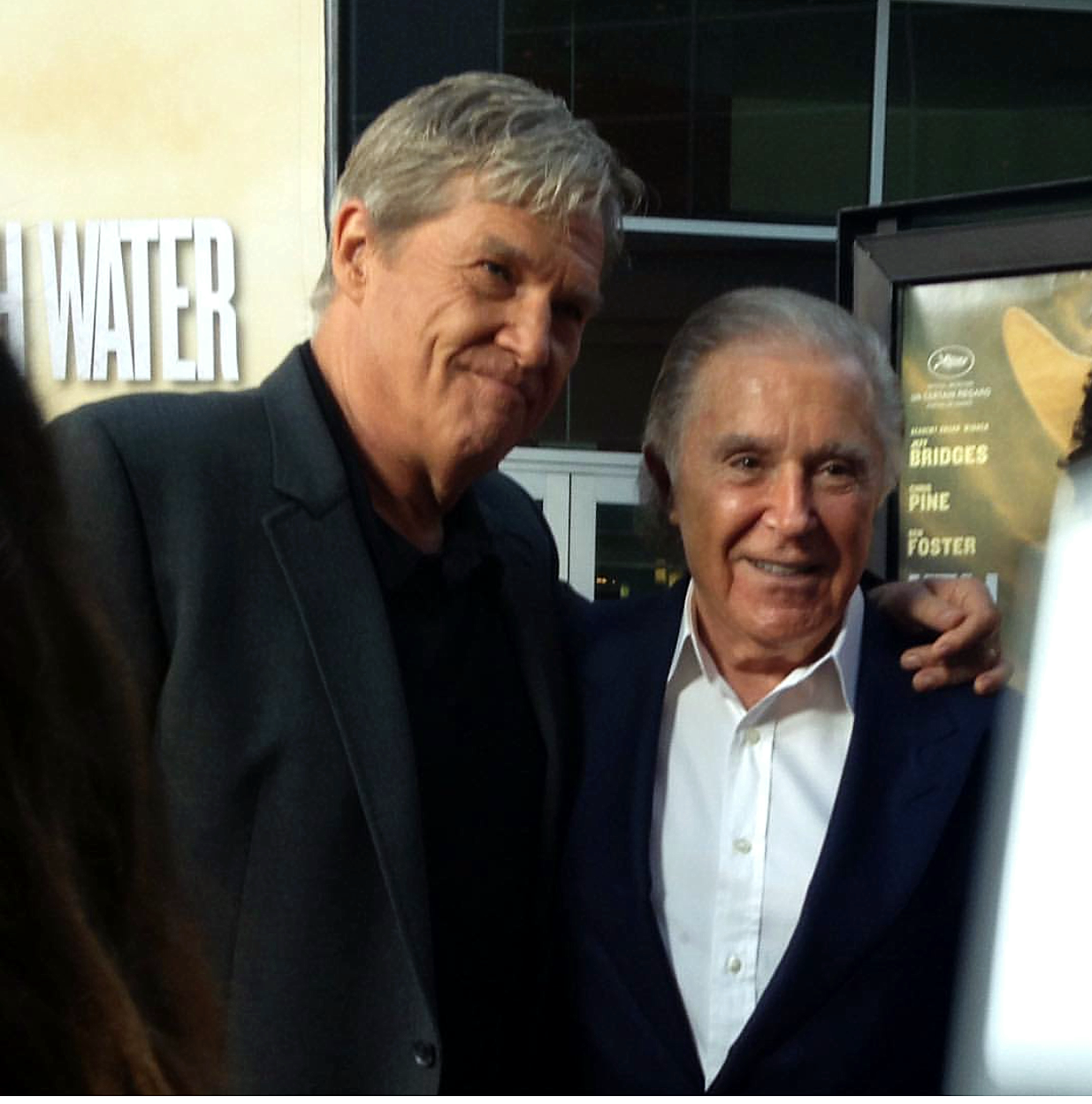 Hell or High Water, Jeff Bridges, movie premiere
