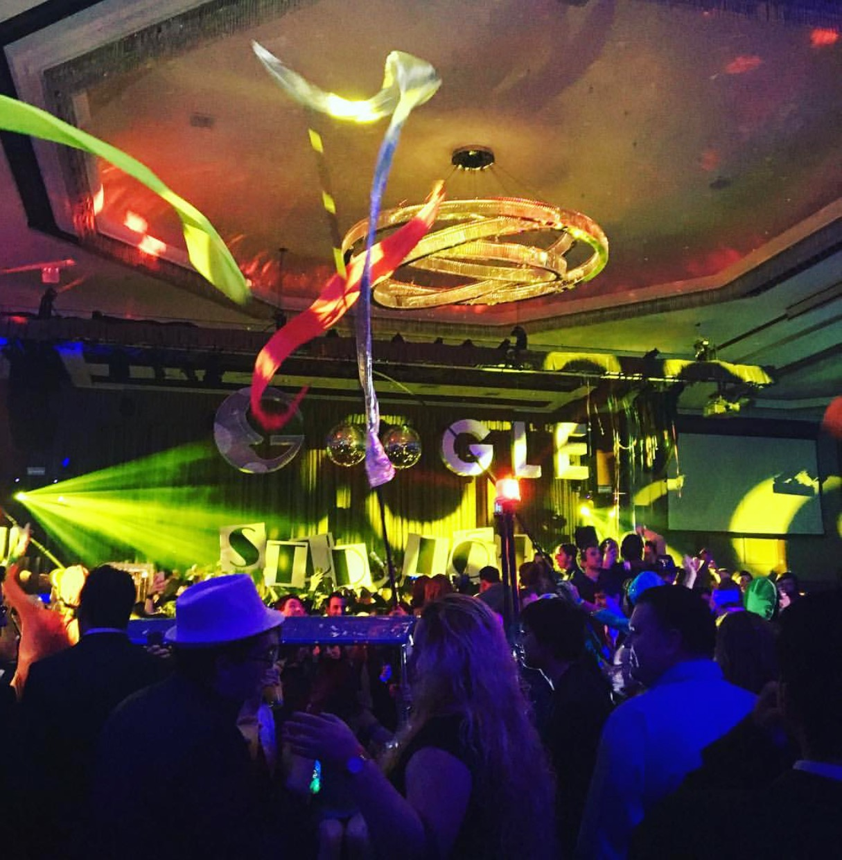 google holiday party remembers iconic new york